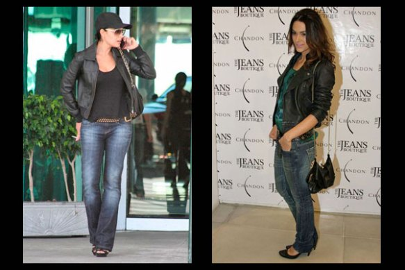 juliana-paes-fernanda-machado-jeans-jaqueta-couro